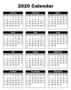 2020 Annual Calendar Printable – Pleasant to be able to our website, in this particular period I'm going to provide you with concerning 2020 Annual Calendar Printable . And from now on, this is the picture: 2020 calendar templates and yearly calendar 2020 Printable Yearly Calendar, Free Printable Calendar Templates, Calendar 2019 Printable, Excel Calendar, Printable Blank Calendar, Print Calendar, 2021 Calendar, Templates Free, Calendar Design