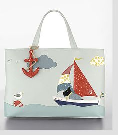 1e27751d19 Radley Signature Port Of Call. Port of Call picture bag was released in  This Radley picture bag features Radley in a boat.