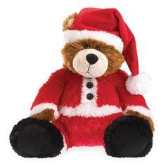 Boyds Bears Bubba Nick Santa Bear Christmas Stuffed Animal Plush Toy