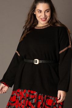 Beautifull sweater from the plussize brand Yesta #BAGOESnl #plussize #grotematen #fatshionista #fashion...