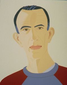 Self - Portrait by Alex Katz | Iconology