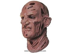 Realistic Halloween Masks | Horror Latex Mask 'Uncle Fred K.' - Halloween Masks