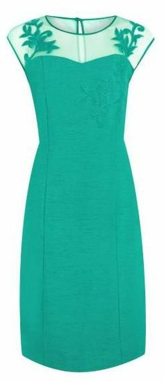Jacques Vert Jade Shift Dress Maybe?  On the right body type.