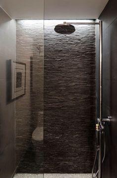 badfliesen in grau travertin fliesen modernes bad einrichten, Hause ideen