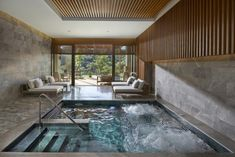 Soak and relax in the Vitality Pool at The Spa Mandarin Oriental, Bodrum.