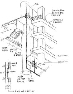 Retail Gallery detail drawing