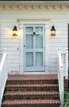 Painted Doors, Garage Doors, Outdoor Decor, Home Decor, Decoration Home, Room Decor, Home Interior Design, Carriage Doors, Home Decoration
