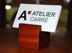 porte-cartes d'affaire  www.ateliercarre.ca
