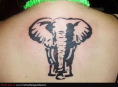Tatto design of Elephant Tattoos | TattooDesignsIdeas.in