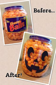 Jack O Lantern Cheese Ball, Halloween food
