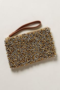 Clutch from anthropologie. This is really cute in person Beaded Clutch, Beaded Bags, Anthropologie, Potli Bags, Embroidery Bags, Craft Bags, Cute Bags, Handmade Bags, Clutch Wallet