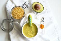 Turmeric Lentil & Avocado Puree — Spice Spice Baby