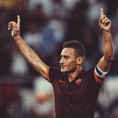 Francesco Totti légende de l'As Roma