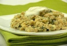 22 lágy és szaftos nokedlirecept - a legjobbakból! | NOSALTY Risotto, Potato Salad, Bacon, Food And Drink, Potatoes, Pasta, Meat, Chicken, Ethnic Recipes