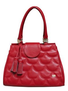 Only Designers Shop LLC - CONSTANZA RED GENUINE LEATHER, $129.00 (http://onlydesignersshop.com/constanza-red-genuine-leather/)