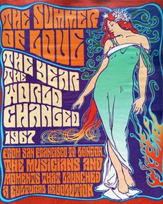 Mucha's art was pretty much ripped off for concert posters. Love the typeface!