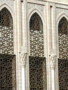 Mosque Architecture, Neoclassical Architecture, Architecture Details, Modern Architecture, Gate Design, Facade Design, Exterior Design, House Design, Modern Apartment Design