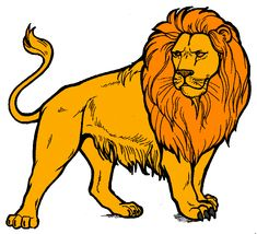 Lion Clip Art | Arthurs Free Lion Clipart Page 1