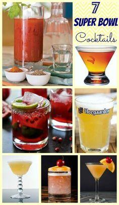 7 Super Bowl Cocktails!