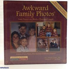 nice AWKWARD FAMILY PHOTOS Board Games Toys NEW SEALED Family Fun! - For Sale