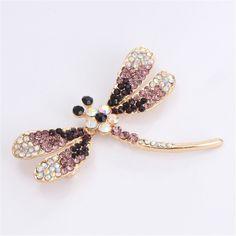 New Animal Pins Brooches Jewelry Crystal Dragonfly Vintage Lovely Small Colorful Gold Silver Rhinestone Scarf Broochs For Women     Tag a friend who would love this!     FREE Shipping Worldwide     Get it here ---> http://jewelry-steals.com/products/new-animal-pins-brooches-jewelry-crystal-dragonfly-vintage-lovely-small-colorful-gold-silver-rhinestone-scarf-broochs-for-women/    #earrings
