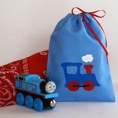 Train Favor Bags
