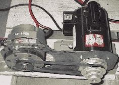 DC Battery Charger by TheEpicenter.com -- Homemade DC battery charger comprised of an automotive alternator belt-driven by a 1 HP AC motor. http://www.homemadetools.net/homemade-dc-battery-charger