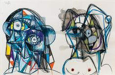 Juxtapoz Magazine - Take a Look Into the Mind of George Condo