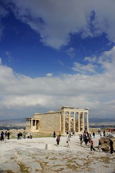 This is my Greece | The Erechtheion on the north side of the Acropolis in Athens