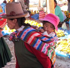 A good example of how traditional Peruvian Cloth is used. | Clothroads