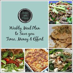 The 3rd edition of my weekly meal plans: 7 Low Carb meals plus a handy shopping list to help you plan better and stay on track with a healthy lifestyle.