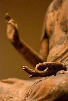 Buddha hands:  12th century