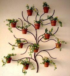 suporte para plantas jardim ambientes externos