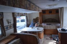 Traveling Triads: Travel Trailer Remodel Reveal!