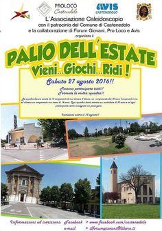 Palio dell'Estate a Castenedolo http://www.panesalamina.com/2016/50189-palio-dellestate-a-castenedolo.html