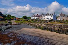 Craster fishing village, Northumberland, England, by edwud.com