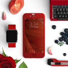 Full protection iPhone 6 / 6s red case