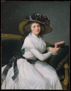 Comtesse de la Châtre (Marie Louise Perrette Aglaé Bontemps, 1762–1848), Later Marquise de Jaucourt  Élisabeth Louise Vigée Le Brun  (French, Paris 1755–1842 Paris)  Date: 1789 Medium: Oil on canvas Dimensions: 45 x 34 1/2 in. (114.3 x 87.6 cm) Classification: Paintings Credit Line: Gift of Jessie Woolworth Donahue, 1954 Accession Number: 54.182