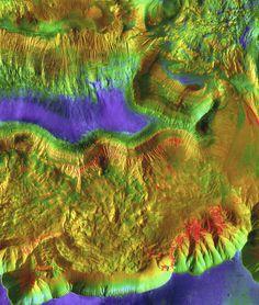 Hebes Chasma on Mars (NASA, Mars) | by NASA's Marshall Space Flight Center