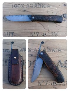 Sedlák dubový, friction folder knife. 19418, celková délka 210mm, čepel 95/25/3 mm. Rukojeť dub