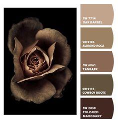 Paint colors from ColorSnap by Sherwin-Williams Color Palette For Home, Colour Pallette, Colour Schemes, Color Combos, Paint Colors For Living Room, Paint Colors For Home, House Colors, Color Me Mine, Sherwin William Paint