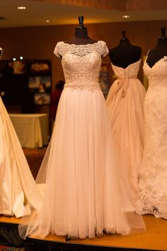 Gowns courtesy A Day to Remember Bridal Boutique