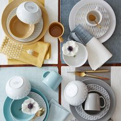 Simple and versatile. Part of our Palette system, this dinnerware collection is made to mix and match. Express your creativity by pairing contrasting colors and patterns, or set a coordinated table—whatever suits your mood.