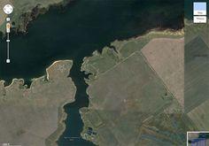 Huge Illuminati Inverted Pentagram in Kazakhstan Visible on Google Maps