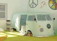 Great idea for a kid's room!!