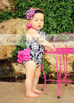 Download Ruffled Sun Suit Romper Sewing Pattern   Baby   YouCanMakeThis.com