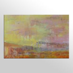 Pintura al óleo arte grande arte de la lona pared por Topart007