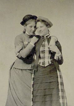 "A great collection of ""lesbians and other lady-loving ladies"" 1850-present. Powerful and affectionate photos of gender non-conformity and happy couples from our past."