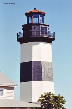 Governor's Point Lighthouse in North Myrtle Beach, South Carolina