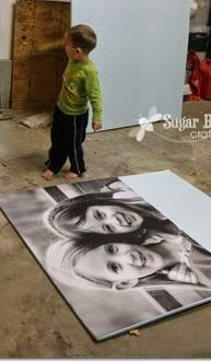 YES - this is the ORIGINAL Tutorial on how to make those big giant photo prints for super cheap - awesome